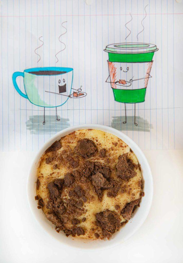 Microwave Coffee Cake
