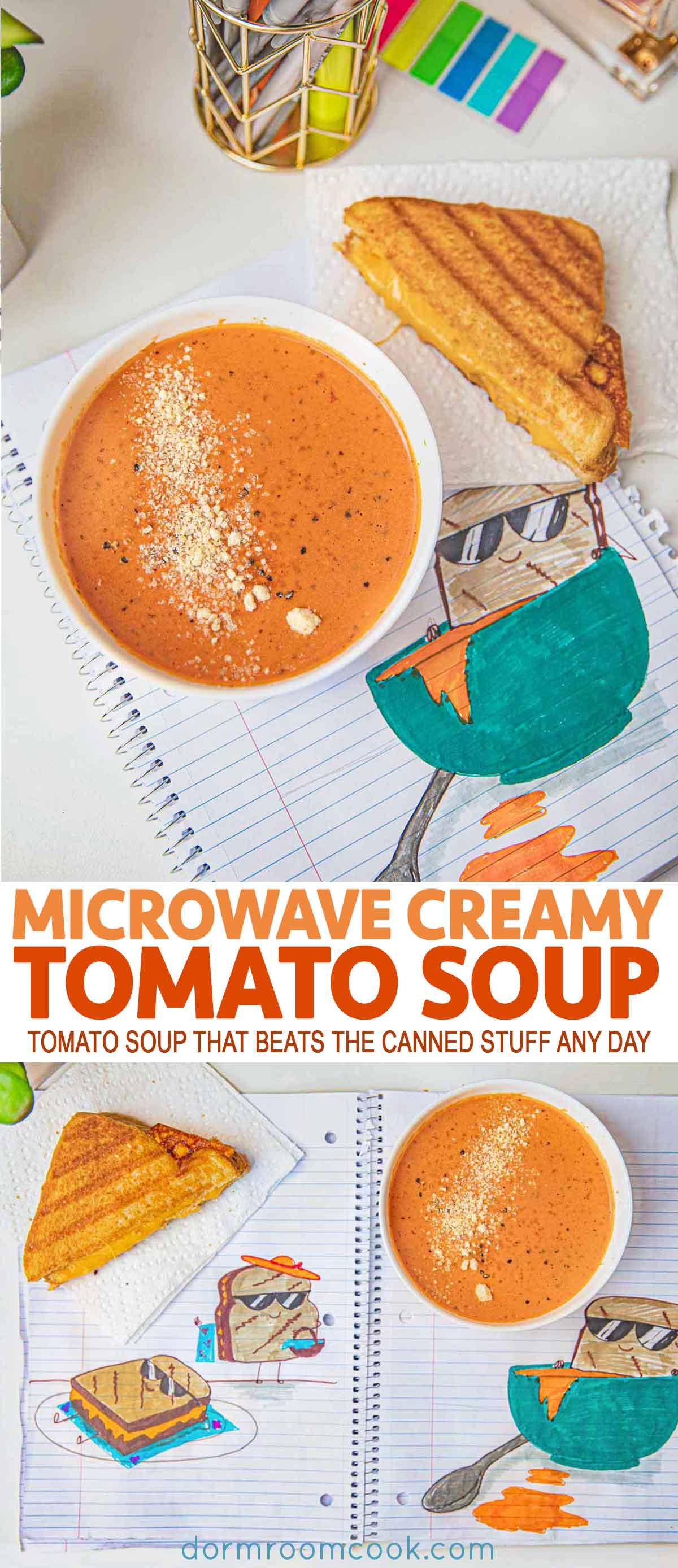 Microwave Tomato Soup