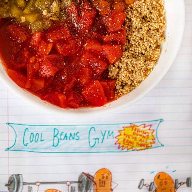 Microwave Chili with Quinoa
