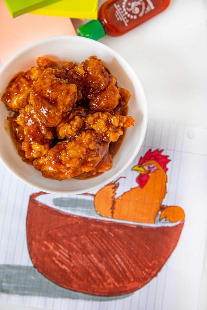 Microwave Orange Chicken