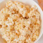 Rice Krispies Treat in bowl