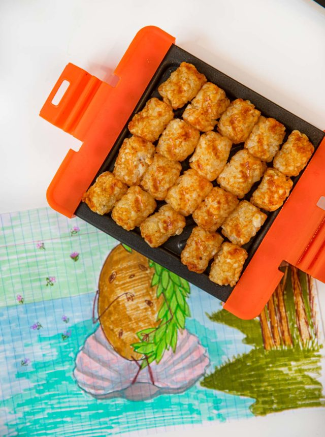 Microwave Tater Tots