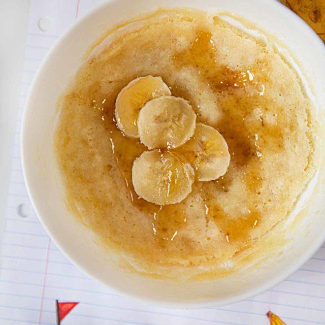 Microwave Banana Pancake