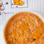 Microwave Bean and Cheese Dip