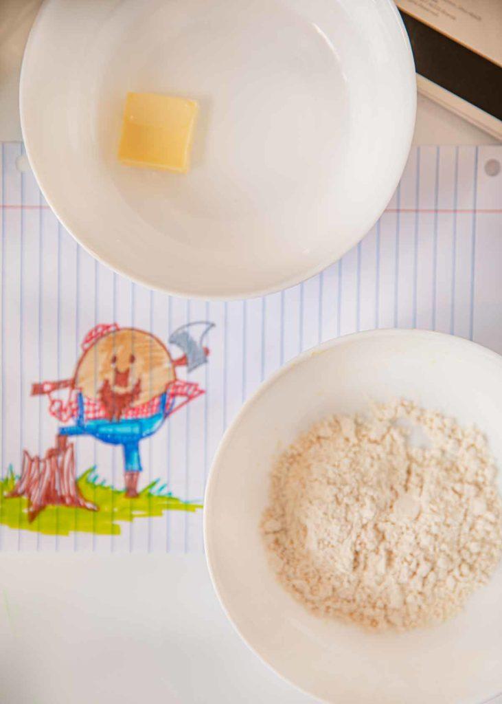 Microwave Pancake ingredients