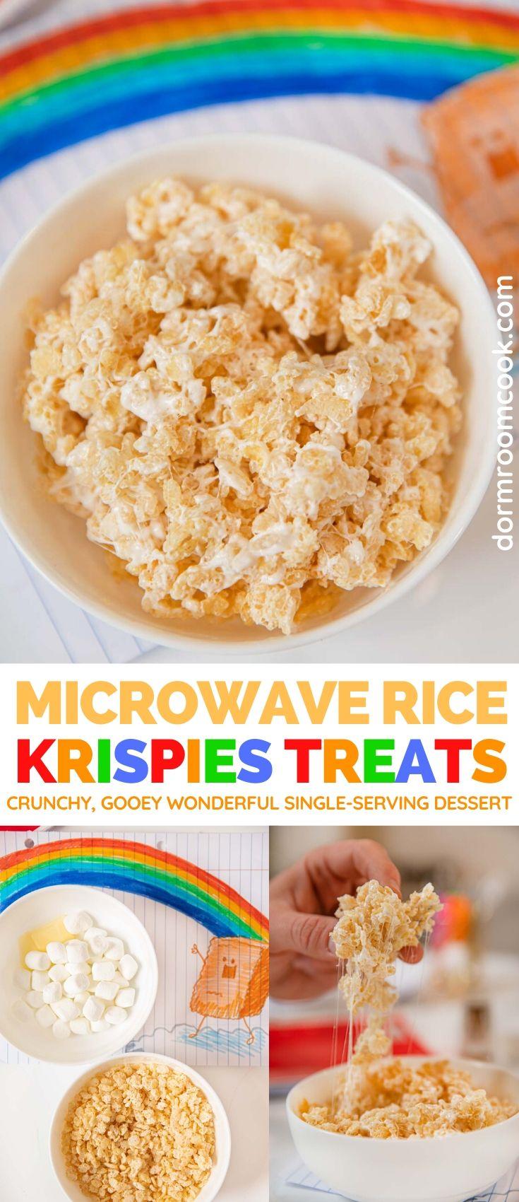 Gooey Microwave Rice Krispies