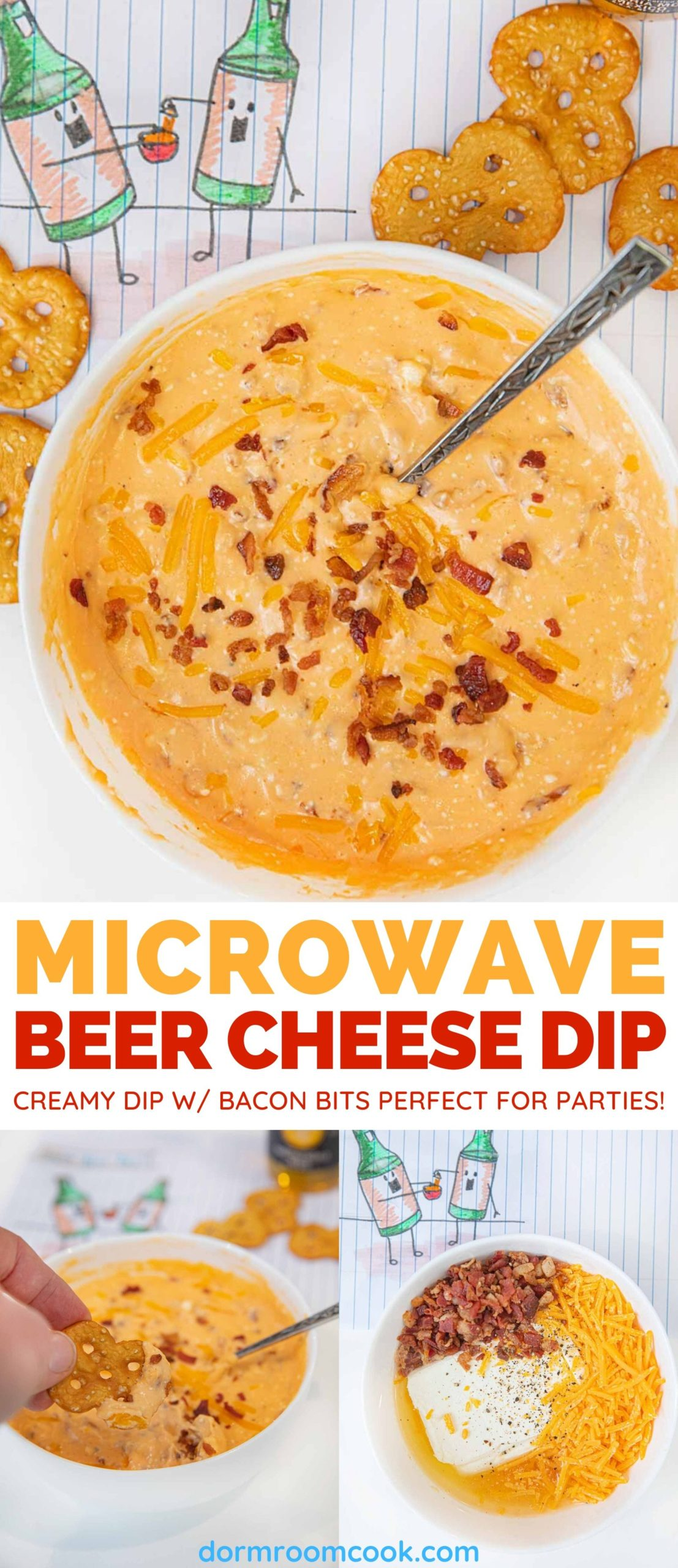 Easy Microwave Cheese Dip