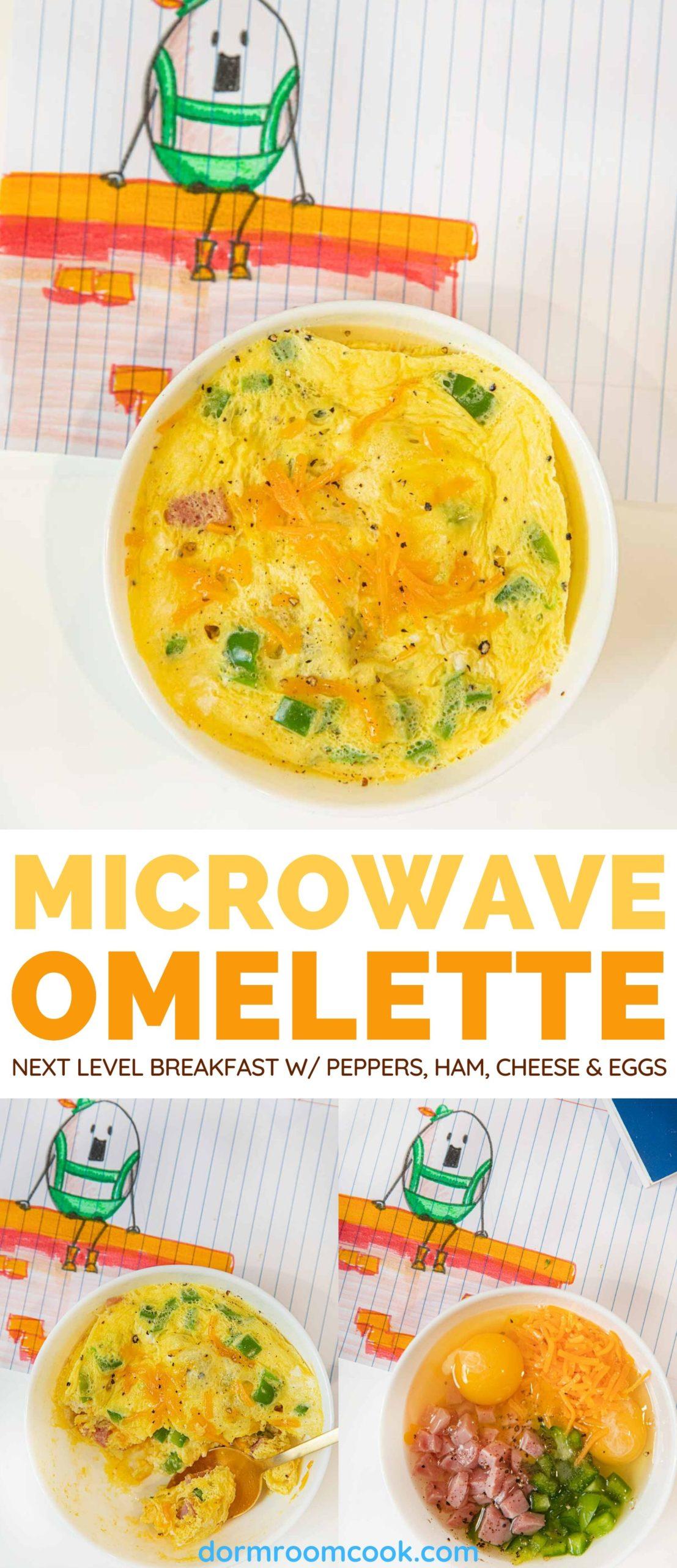 Easy Microwave Omelette